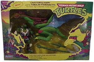 Cave-Turtle Raph with Tubular Pterodactyl