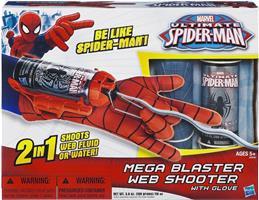 Spider-man Web Lançador Luva Web-Disc blaster e três discos da Web Novo /_ Uk