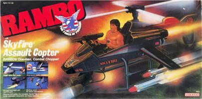 RAMBO Weapon DEFENDER 6x6 Assault Vehicle Tri Pod Original Part Coleco 1985